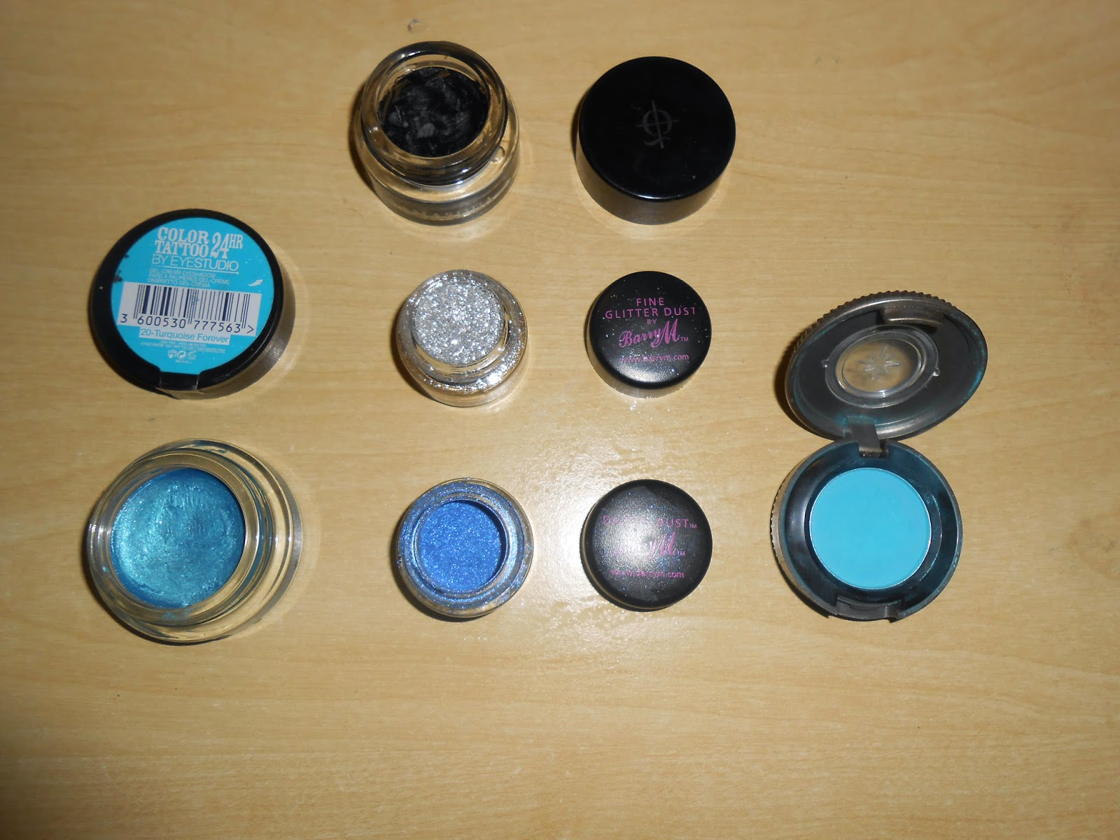 Blue And Silver Eye Look Makeup Tutorial Specs In The City